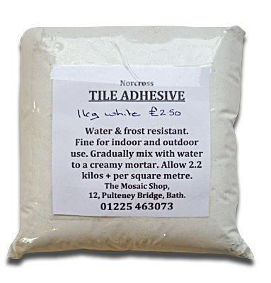 White Tile Adhesive 1 kg