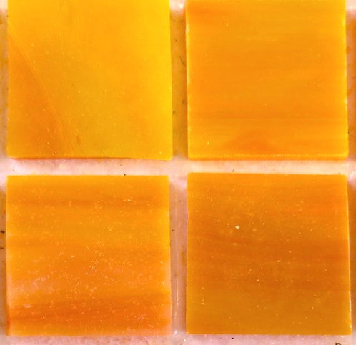 Lustrous Sunset 20mm glass tile