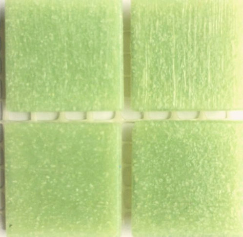 536a Sap green 20mm glass mosaic tile