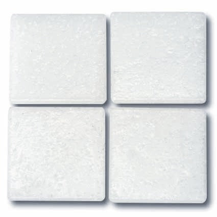 503 White 20mm glass tile