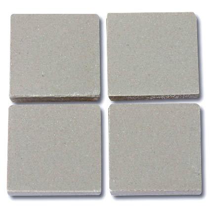 646 Mid grey 24mm - a sheet of 49 ceramic tiles