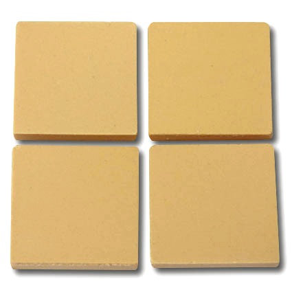 658 Yellow 24mm - a sheet of 49 ceramic tiles