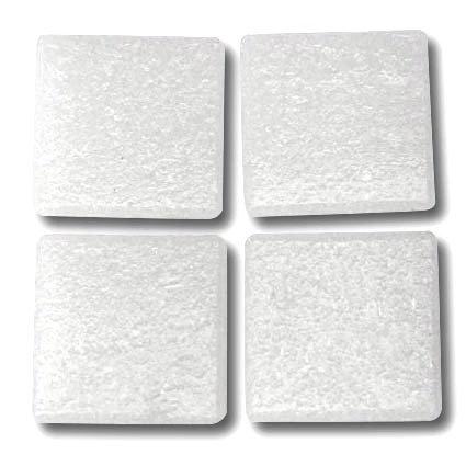 502 Grainy white 20mm glass tile