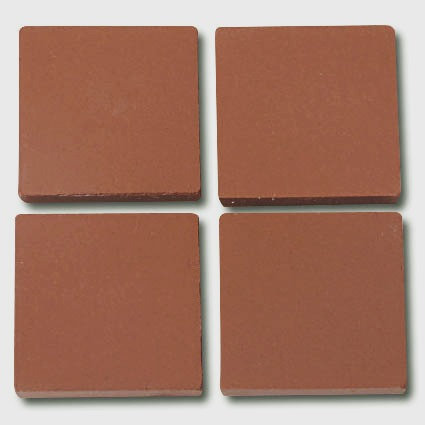 662 Terracotta - a sheet of 24mm ceramic tiles