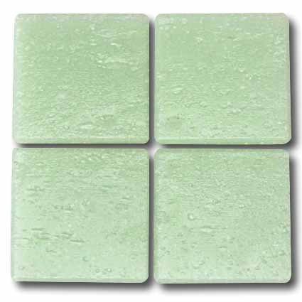 534 Pale mint 20mm glass mosaic tile
