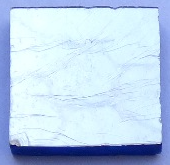 Silver leaf tile 20mm