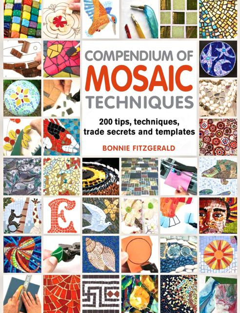 Compendium of MOSAIC TECHNIQUES by Bonnie Fitzgerald