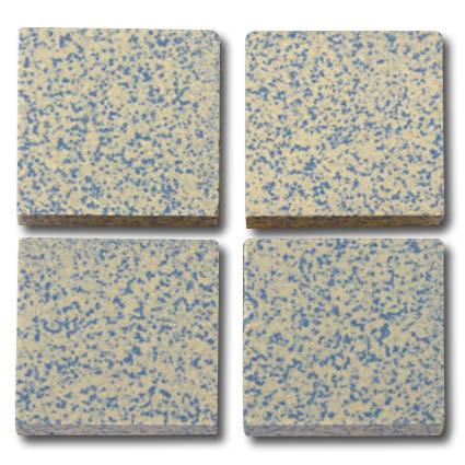612 Speckled blue 20mm ceramic tile