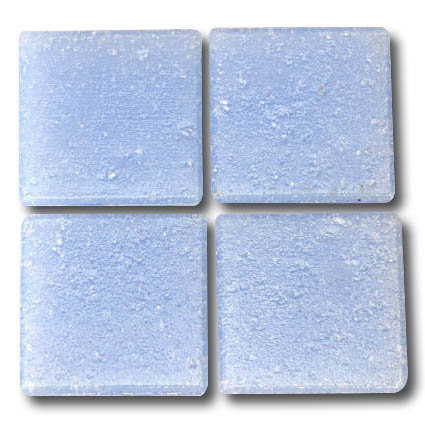 558 Summer blue 20mm glass mosaic tile