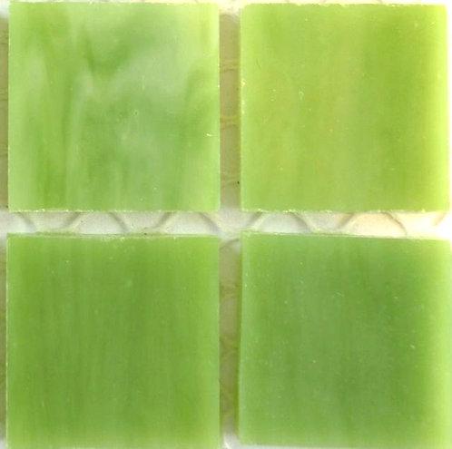 Lustrous Moss Green 20mm glass tile