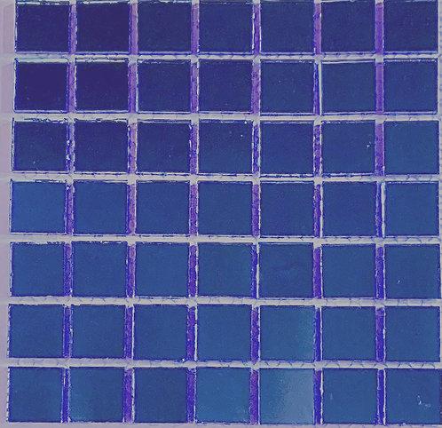 Dark blue mirror tile 20mm