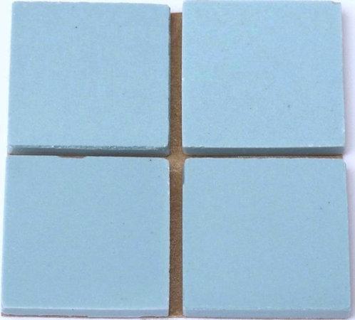 650 Light blue 24mm - a sheet of 49 ceramic tiles