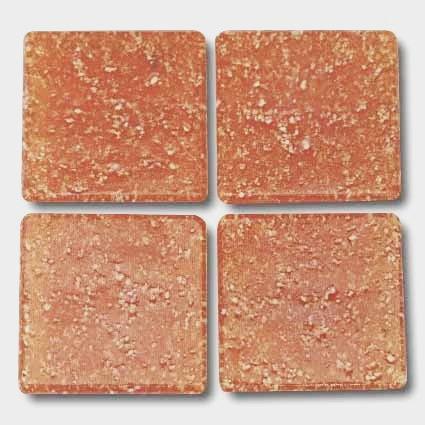 529 Russet 20mm glass mosaic tile