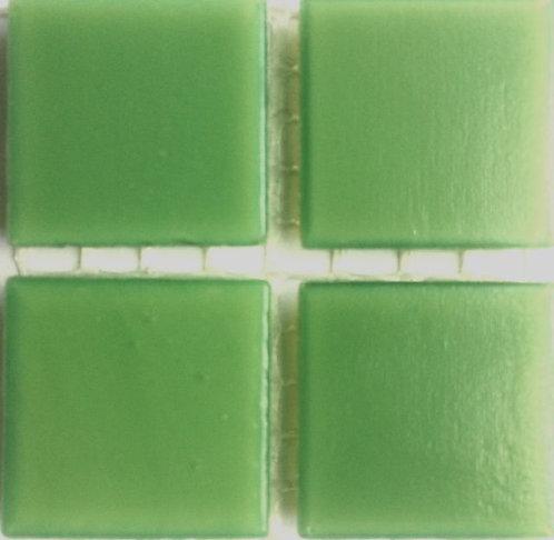 539a Shramrock green 20mm glass mosaic tile