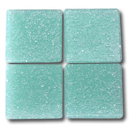 544 Pale cyan 20mm glass mosaic tile