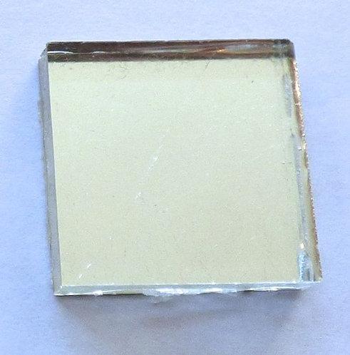 Machine-made Silver leaf tile 20mm
