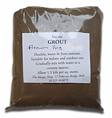 Brown grout