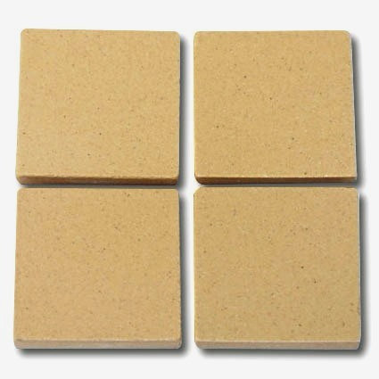 654 Straw 24mm - a sheet of 49 ceramic tiles