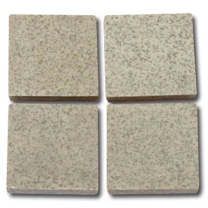 640 Speckled pale grey 24mm ceramic mosaic tile