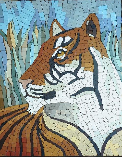 Tiger mosaic kit