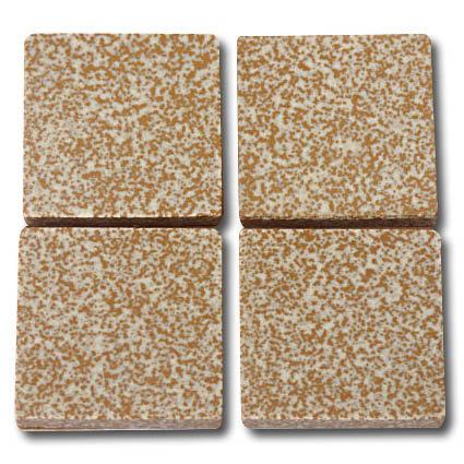 642 Speckled gold 24mm ceramic mosaic tile