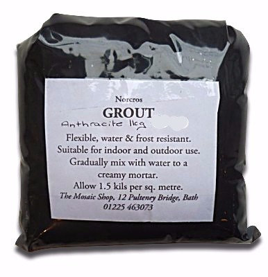 Anthracite grout
