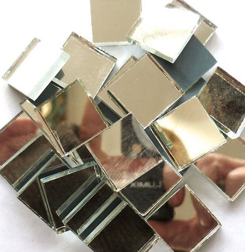 20mm mirror tile - bagged