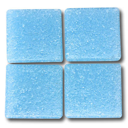 553 Arctic blue 20mm glass mosaic tile