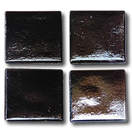 586 Iridescent tempered steel 20mm glass mosaic tile