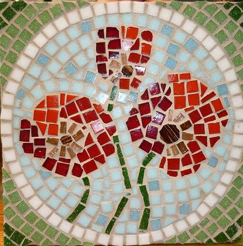 Poppies Mosaic Kit