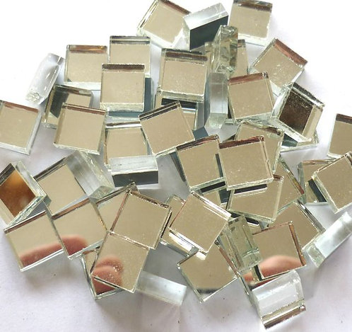 10mm mirror tile - bagged