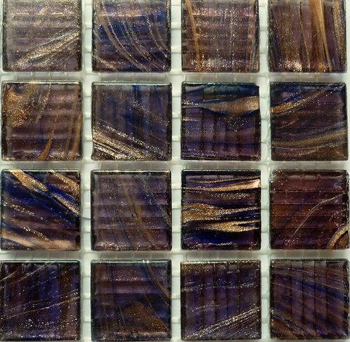 Special; Purple 'gold Vein' mosaic. Large sheet.