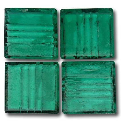 569 Transparent green 20mm glass mosaic tile