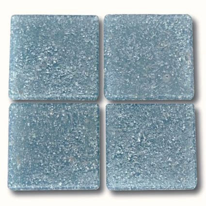 549 Pale Blue Grey 20mm glass mosaic tile