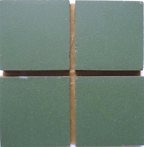 660 Deep green 24mm ceramic mosaic tile