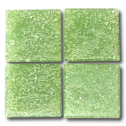 540 Light green 20mm glass mosaic tile