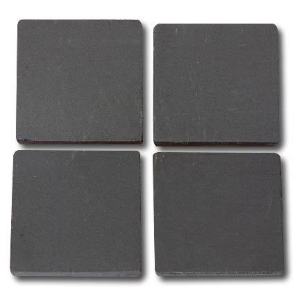 663 Black 24mm - a sheet of 49 ceramic tiles