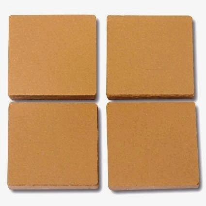 657 Mustard 24mm - a sheet of 49 ceramic tiles