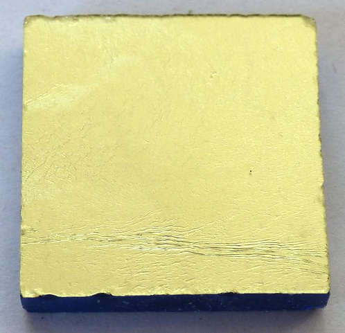 Lemon Gold leaf tile 20mm