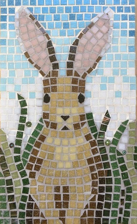 Hare mosaic kit