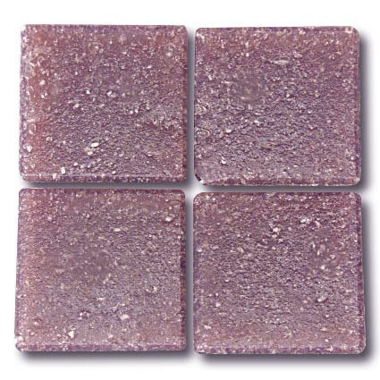 564 Mauve 20mm glass mosaic tile
