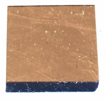 Copper Gold leaf tile 20mm