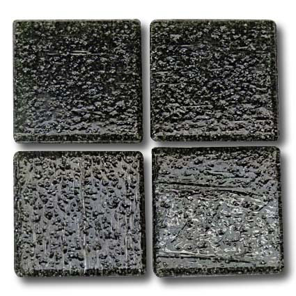 508 Dark grey 20mm glass mosaic tile