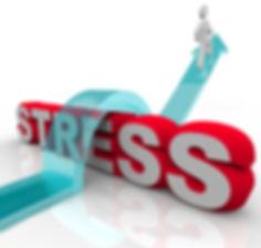 person overcoming stress