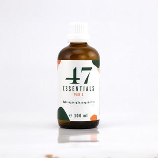 47 Essentials PAR 1 (Schwarznussschalen Extrakt flüssig): 100 ml
