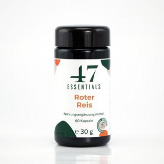 47 Essentials Roter Reis (60 Kapseln)
