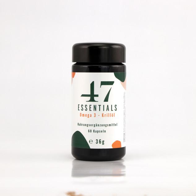 47 Essentials Krillöl 60 Kapseln