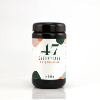 47 Essentials D (+) Galactose (150 Gramm)