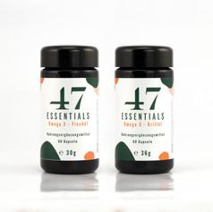 47 Essentials Omega 3 Fisch und Krillöl ... (2x 60 Kapseln)