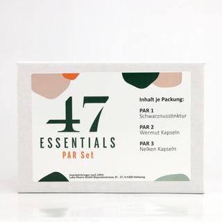 47 Essentials PAR Set (100 ml 120 u. 180 Kapseln)